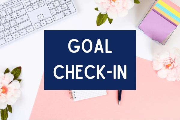 Goal Check-In